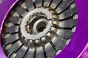 Disk Of Automobile Clutch Stock Photo - Image: 8273980