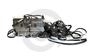 Old Audio Cassette Stock Image - Image: 8274071