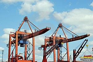 Heavy Lifting Crane Stock Photography - Image: 8274652
