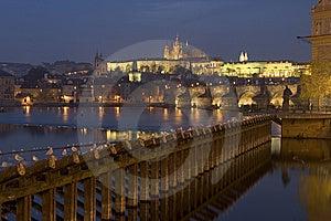 Prague Et Night Stock Photography - Image: 8275192