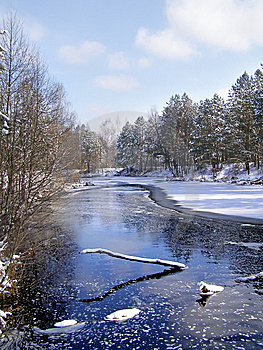 Beautiful Winter Landscape Stock Photography - Image: 8275262