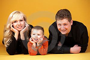 Family Portrait Stock Image - Image: 8275391