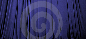 Blue Stage Curtain Royalty Free Stock Images - Image: 8275539