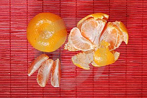 Tangerines Royalty Free Stock Images - Image: 8275789