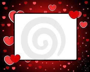 Love Frame Royalty Free Stock Photos - Image: 8277548