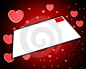 Love Letter Stock Image - Image: 8277661