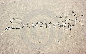 Summer Sun Stock Image - Image: 8277811