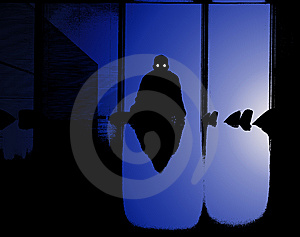 Sinister Business Man Royalty Free Stock Photography - Image: 8277887