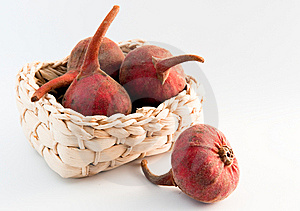 Fresh Figs In A Basket Stock Photography - Image: 8278092