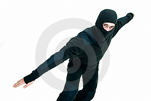 In Black Suit Royalty Free Stock Images - Image: 8278929