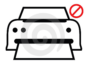 Laser Printer Royalty Free Stock Photo - Image: 8279645