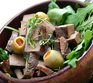Fresh Liver Stock Photo - Image: 8281410
