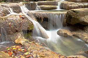 Waterfall. Stock Photo - Image: 8283060