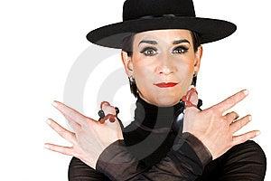 Spanish Dancer Stock Photo - Image: 8283800