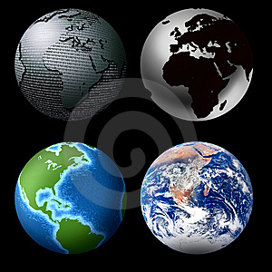 Globes Stock Photography - Image: 8285082