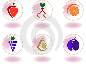Vegetables, Fruits And Berries Royalty Free Stock Photos - Image: 8285188