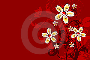 Floral Abstract Background. Royalty Free Stock Photo - Image: 8285915