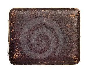 Antique Box Isolated On White Stock Photo - Image: 8286210