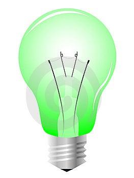 Realistic Light Bulb Royalty Free Stock Photo - Image: 8286285