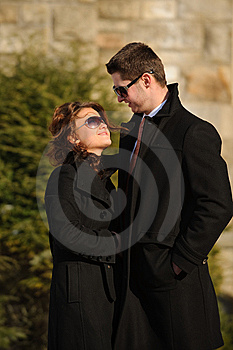 Happy Young Couple Stock Image - Image: 8287471