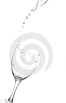 Glasses With Water Stock Photo - Image: 8287750