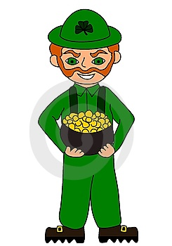 Leprechaun Royalty Free Stock Image - Image: 8287996