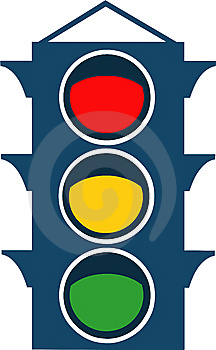 Vector Traffic Lights Royalty Free Stock Image - Image: 8288336