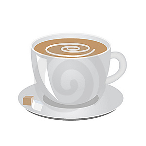 Coffee Cup Royalty Free Stock Photos - Image: 8288518