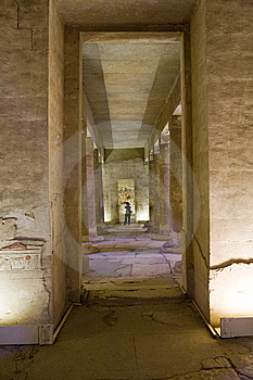 Temple In Egypt Stock Image - Image: 8288641