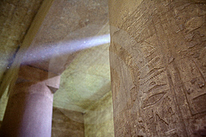 Temple In Egypt Royalty Free Stock Images - Image: 8288649