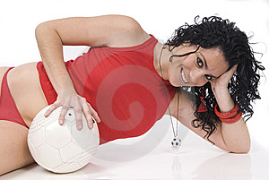 Sexy Soccer Or Football Player, Coach Or Referee Stock Images - Image: 8289164