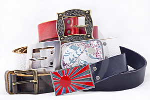 Modern Belts Royalty Free Stock Images - Image: 8289169