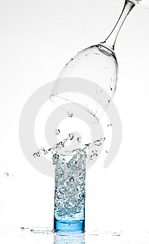 Glasses With Water Stock Photography - Image: 8289242