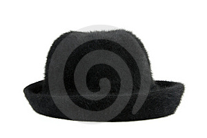 Black Woman's  Hat Stock Photo - Image: 8289360