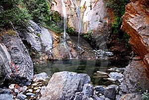 Salmon Creek Falls Stock Image - Image: 8289411