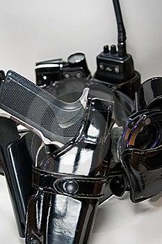 Policeman Gunbelt Stock Photos - Image: 8290063
