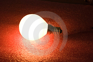 Incandescent Light Bulb Royalty Free Stock Photos - Image: 8290698