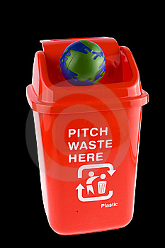 Recycling With Globe Royalty Free Stock Photos - Image: 8291328
