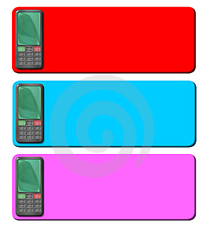 Cellphone Tags 2 Royalty Free Stock Photo - Image: 8291795