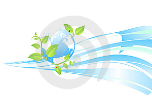 Ecology Background Royalty Free Stock Images - Image: 8292909