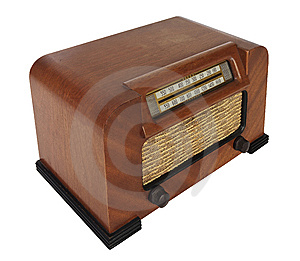 Vintage Tube Radio Royalty Free Stock Photo - Image: 8293155