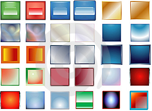 Color Buttons Royalty Free Stock Photos - Image: 8293898