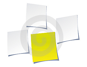 Notepaper Royalty Free Stock Photo - Image: 8294115