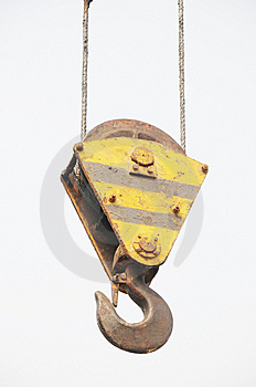 The Lifting Hook Royalty Free Stock Photography - Image: 8294197