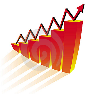 Business Graph Royalty Free Stock Image - Image: 8294636