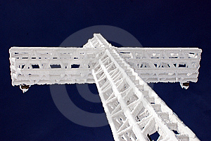 Steel Cross Stock Images - Image: 8294664
