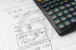 Calculation And Calculator Royalty Free Stock Image - Image: 8295136