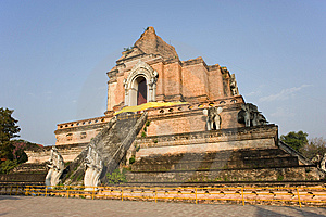 Thailand Wat Chedi Luang Royalty Free Stock Photography - Image: 8295457
