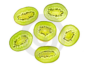 Kiwi Slices Royalty Free Stock Images - Image: 8295829