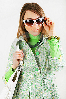 Woman In Sunglasses. Royalty Free Stock Photography - Image: 8295877